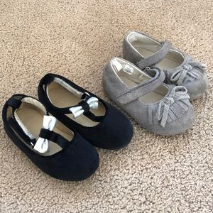 Other - 2 pair baby girl size 4 shoes